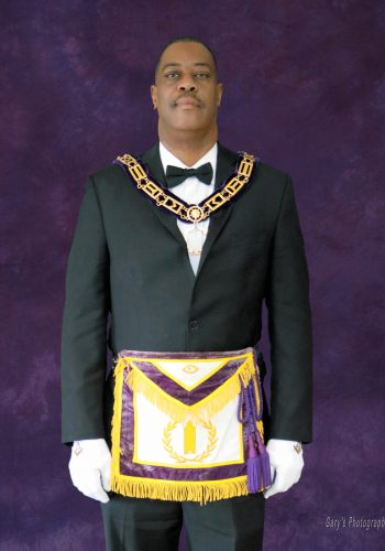 RW Grand Junior Warden, Ron Q. Van